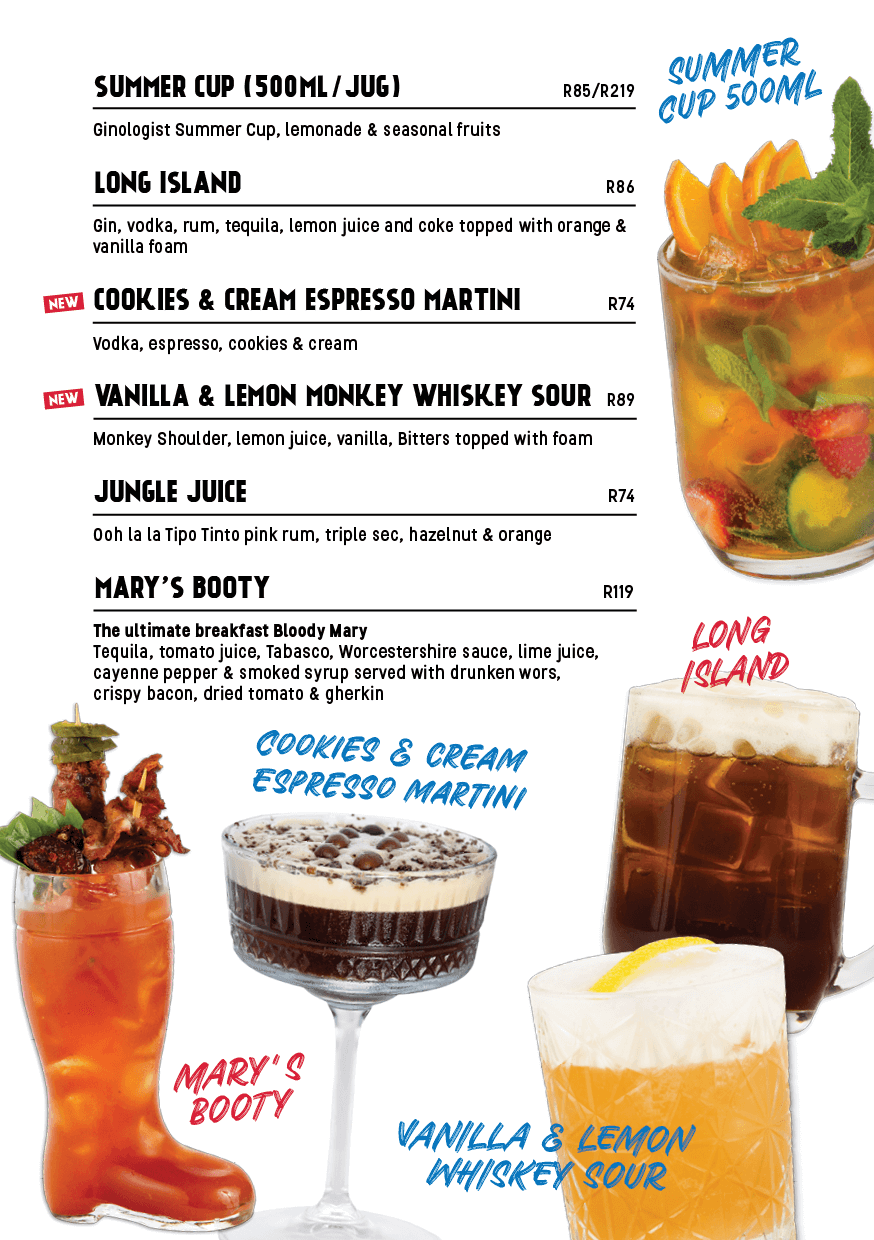 drinks menu page 10