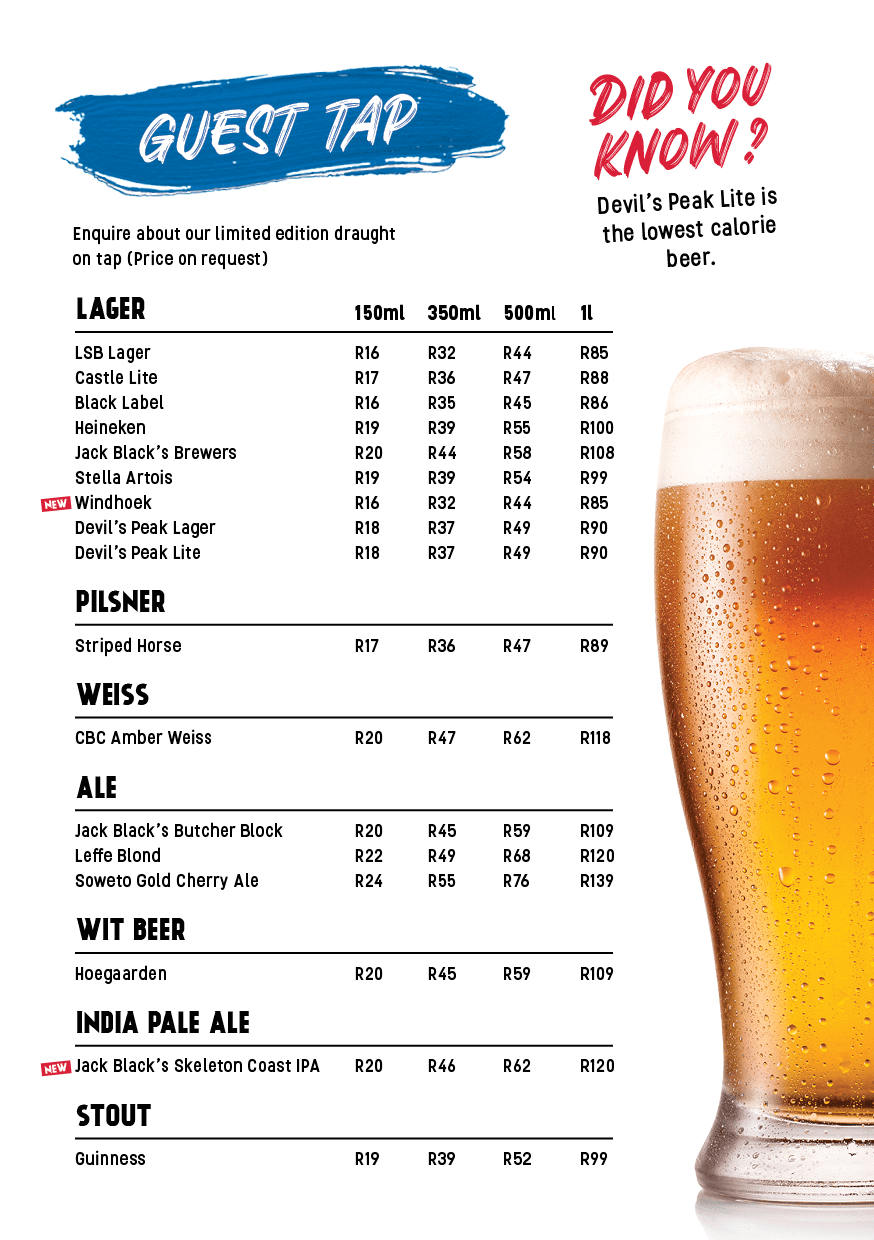 drinks menu page 13