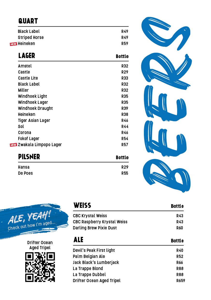 drinks menu page 15